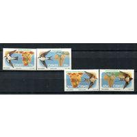 Сискей (Южная Африка) - 1984 - Птицы - [Mi. 61-64] - полная серия - 4 марки. MNH.