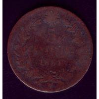 5 чентезимо 1861 год Италия