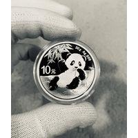 Монета ПАНДА Китая 2020, Серебро, 30g