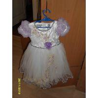 Праздничное платье на девочку 4-5 лет