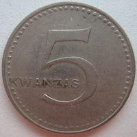 Ангола 5 кванза 1977 г. Цена за 1 шт.