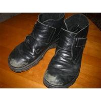 Ботинки осень35 р-р. Отико, кожа