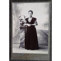 Фото женщины. 1912 г. 11х16 см.