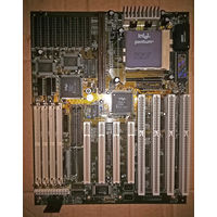 Материнская плата Motherboard  Amikey TM-2 Intel Pentium A80502100 SY007 100 CPU