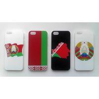 Подарок на 8 марта! Чехлы для iPhone 5/6/7 с гербом Беларуси