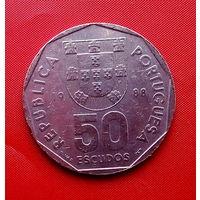 90-25 Португалия, 50 эскудо 1988 г.