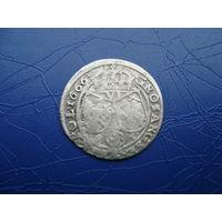 6 грошей (шостак) 1666 (2)