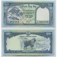 "Распродажа коллекции. Непал. 50 рупий 2012 года (P-72 - 2012-2013 Dated ""Mount Everest"" Issue)"