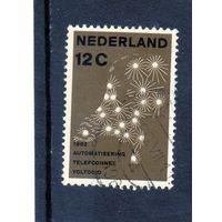 Нидерланды. Ми-780.Автоматическая телефонная сеть общего пользования. 1962.