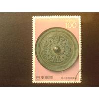 Япония 1989 бронзовый щит 4 век