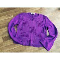 Свитер кофта женская фиолетовая
