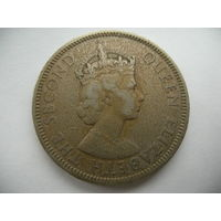 1 рупия 1971 Маврикий