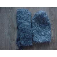 Шапка+шарфик новые,без обмена!