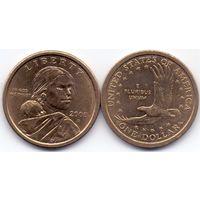 США, 1 доллар 2000 года, D.