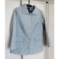 Дешево! Куртка легкая , голубая Р-р 48