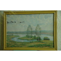 Картина ,масло , холст  (  50 х 71 )