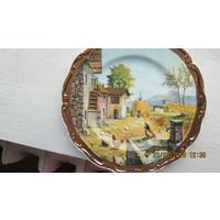 Тарелка 21 см - картина P. Dilamipa