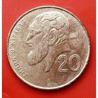 16-30 Кипр, 20 центов 1994 г.
