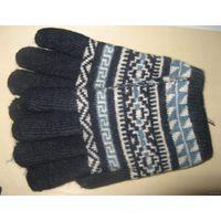 Перчатки женские теплые шерстяные новые в наличии