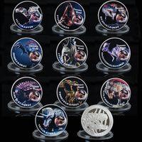 Набор 10 монет серия Динозавры