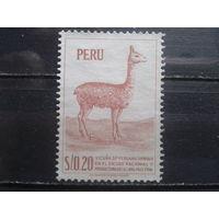 Перу 1953 Фауна*