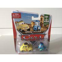 Набор Машинок Тачки Луиджи и Гвидо Disney Pixar Cars Race Team Luigi and Guido Festival Italiano Series