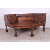 Диванный угловой стол.Дубовый.Art-0018.