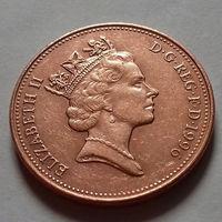 2 пенса, Великобритания 1996 г.