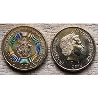 Соломоновы Острова 2 доллара, 2018 40 лет Независимости