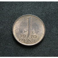 Нидерланды 1 цент 1970