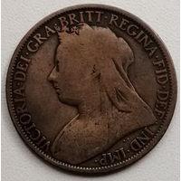 Великобритания 1 пенни 1897 2
