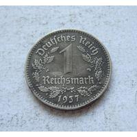 Германия Третий рейх 1 рейхсмарка 1937 (А - Берлин)