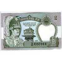 Непал 2 рупии UNC.