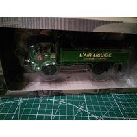 """Продам Simca Cargo """"L'air Liquide"""", серия Camions DAutrefois номер 57, green производитель IXO"""