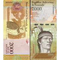 Венесуэла  2000 боливаров  UNC