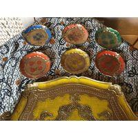 Подставки Флоринтийский стиль Италия набор из 6 шт