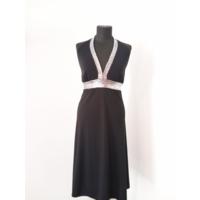 Нарядное черное платье с пайетками для встречи Нового года!