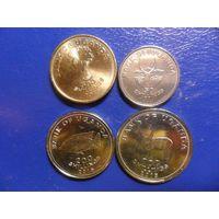 Уганда 4 монеты одним лотом