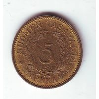 Финляндия. 5 марок 1949 г.