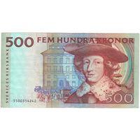 Швеция 500 крон образца 1985 года. Большой номинал!