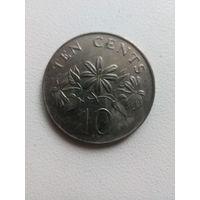 10 Центов 1985 (Сингапур)