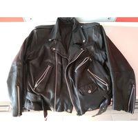 Куртка Терминатора. Отличная. 1990ее. кожанная