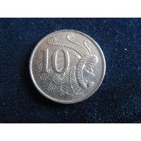МОНЕТЫ ЕЛИЗАВЕТЫ АВСТРАЛИЯ 10 центов 1977 благородный лирохвост цена одной монеты 0,5 руб.