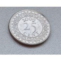 Суринам 25 центов, 2009 6-11-38