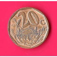 19-40 ЮАР, 20 центов 2004 г.