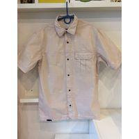 Рубашка на кнопках с карманом р.39-40