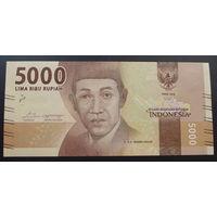 Индонезия. 5000 рупий 2016 [UNC]