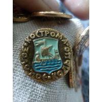 Значок СССР. Золотое кольцо. Кострома.