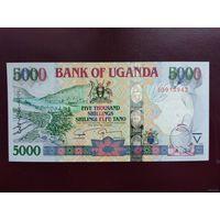 Уганда 5000 шиллингов 2009 UNC