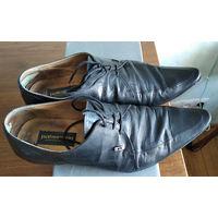 Туфли кожаные 40 размер Pakerson Италия